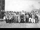 Group of the Property Control Unit, Minidoka Relocation Center, Japanese evacuees, ca. 1943-1945