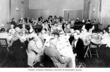 Banquet at the 21st Washington Tuberculosis Association annual meeting in Ellensburg, Washington,...