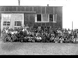 Construction maintenance crew, Minidoka Relocation Center, ca. 1943-1945