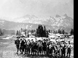 Climbing party at Paradise, Mount Rainier National Park, n.d.