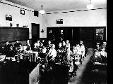 Classroom interior, unidentified school, n.d.