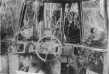 Interior of the control cabin of Zeppelin L49, World War I, ca. 1916
