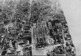 Aerial view of Reims, France, World War I, 1916
