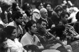 Attendees listening to César Chávez, at a United Farm Workers gathering in Granger, Washington,...