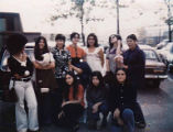Residents of Lander Hall, Chicano House at University of Washington in Seattle, Washington, n.d.
