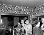 Bar scene at a Pike Street tavern, Seattle, 1952