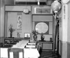 Interior dining room area of the Belmont Food Market, 506 Main St., Seattle, July 12, 1952