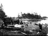 Camping at Deception Pass State Park, July 4, 1923