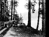 Car camping at Lake Crescent, Olympic Peninsula, n.d.