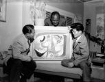 Chinese artist Fay Chong, African-American artist James Washington, and Japanese-American artist...