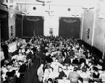 Attendees eating dinner, 50th Anniversary dinner for Seattle Web Pressmen's Union Number 26 at the...