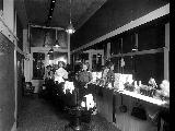 Barber shop interior, n.d.