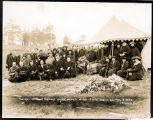 Funeral of Frank Hastings, March 2, 1923