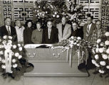 Funeral of [John] Arthur Boose of Portland, Oregon, 1959