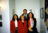 Jackie Boschok, Roy Moore, United States Senator Patty Murray and Ronnie Behnke-Little, Leadership...
