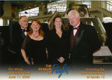 Alex Boschok, Jackie Boschok, Susan Palmer and unidentified man at the Wings of Heroes Gala at the...