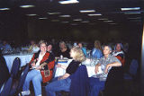 Group of attendees seated at table at the Coalition of Labor Union Women (CLUW) National Executive...