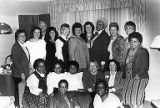 Group photograph of attendees at 4th Biennial Coalition of Labor Union Women (CLUW) Convention,...
