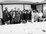 Group photograph of attendees at the 5th Biennial Coalition of Labor Union Women (CLUW)...