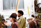 Bakke Decision Protest depicting people marching in Seattle, Washington, 1977