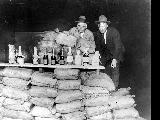 King County Sheriff Matt Starwich (left) and Carl H. Jackson, chief of divisional prohibition...