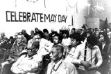 Audience at a May Day celebration in Seattle, May 1, 1978