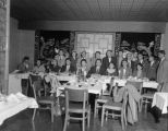Japanese American Citizens League (JACL) meeting at Ruby Chow's, December 4, 1957
