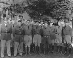 41st Infantry Division group portrait of U.S. Army chaplains at Fort Lewis, ca. 1940