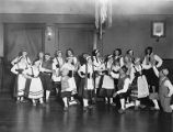 Folkedansere (folk dancers) for the Danish Dramatic club of Seattle called Harmonien, ca. 1926-1927