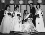 Nisei Queen and Princesses at Coronation Ball, June 29, 1963