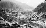 Birds-eye view of Wallace, Idaho, August 1917