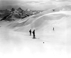 Skiers at Mount Rainier National Park, n.d.