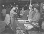 Community store in block 30, Minidoka Relocation Camp, December 9, 1942