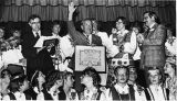 "Senator Henry ""Scoop"" Jackson receiving the Baltic Freedom Award, 1981"
