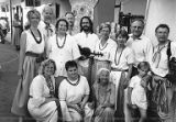 Folksinging group Ukana performing at Lithuania Days in Los Angeles, California, 1998