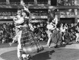 Juozas and Zita Petkus dancing in the Lithuanian folk dance group at Expo '86 in Vancouver,...