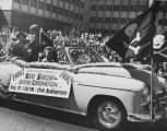 Junior Chamber of Commerce car in the Seafair parade, Seattle, August, 2, 1952