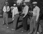 African-American golfers at local golf course, February 8, 1954