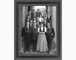 Members of the Scandinavian Grand Lodge of International Organization of Good Templars, Seattle,...