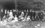 Temperance group picnic, Alki Point, Seattle, 1913