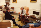 Senator Warren G. Magnuson with President Jimmy Carter, Washington, D.C., May 30, 1980