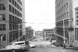 Buildings at Madison St., west of 3rd Ave. mid-street, ca. 1970s
