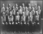 Anchor Lodge 221 past noble grands, International Organization of Odd Fellows, Seattle, 1914