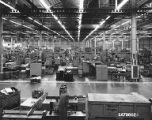 Boeing Tooling Facility, interior view, 700 15th St. SW, Auburn, Washington, ca. 1966