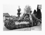 Tulip Parade float Midsummer Day in Sweden, Urania Lodge 414, Vasa Order of America, Bellingham,...