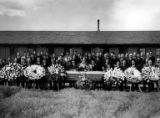 Funeral of Kwatoro Nakano, Minidoka Relocation Center, ca. 1943-1945