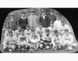 Selleck baseball team with Frank Fukuda and others, n.d.