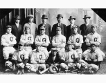 Japanese baseball team, probably Seattle, ca. 1912
