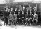 Seattle Asahi players on their first tour of Japan, 1914