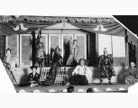 Japanese theater performance, Seattle, 1915